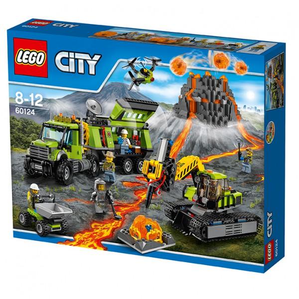 LEGO City 60124 - Vulkan-Forscherstation