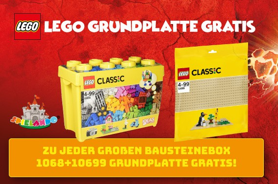 Lego Box Grundplatte Gratis
