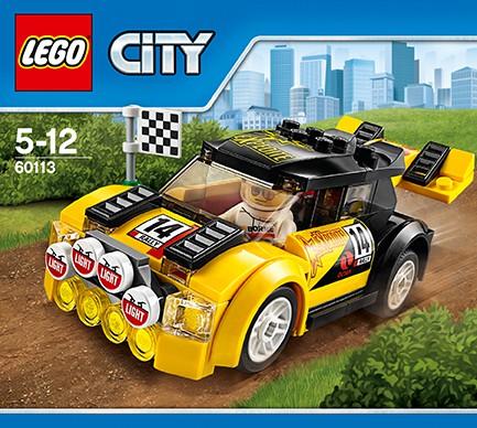 LEGO City 60113 - Rallyeauto
