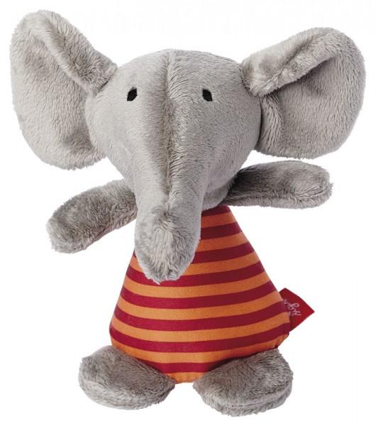 Sigikid -41176-Rassel Elefant Red Stars Collection