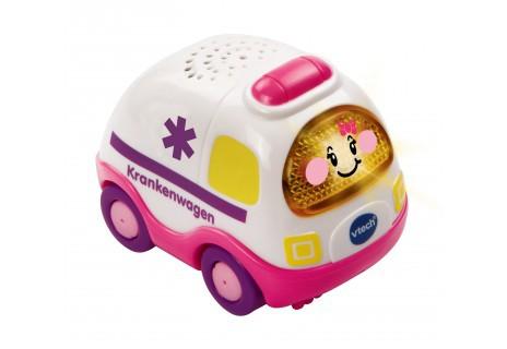 Vtech-119754-TutTut Baby Flitzer - Krankenwagen pink