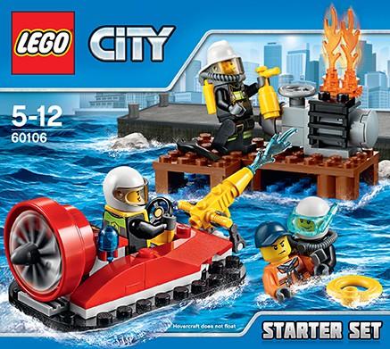 LEGO City 60106 - Feuerwehr-Starter-Set