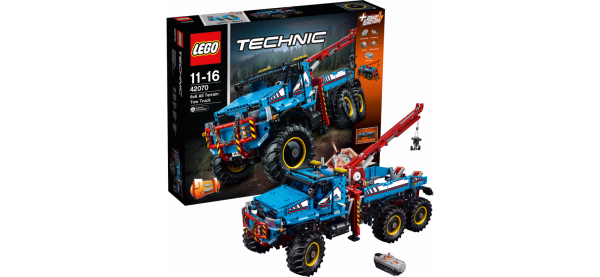 LEGO 42070 Technic: Allrad-Abschleppwagen