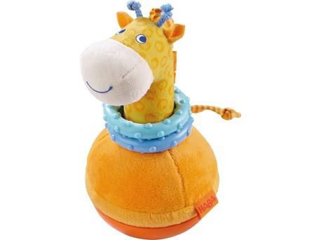 HABA 302571- Stehauffigur Giraffe