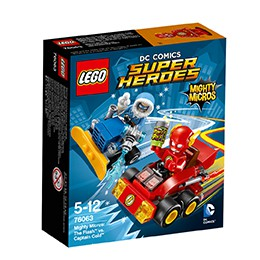 LEGO 76063 The Flash™ vs. Captain Cold™