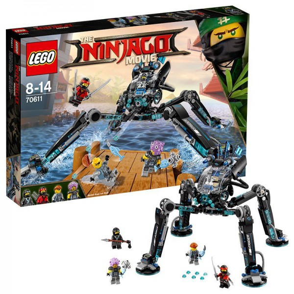 Lego The NINJAGO Movie 70611 Nya's Wasser-Walker