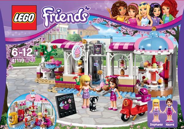 LEGO Friends 41119 - Emmas Erfinderwerkstatt