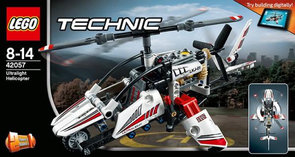 LEGO 42057 Technic Ultraleicht-Hubschrauber