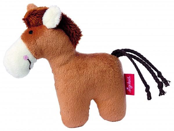 Sigikid -41174- Rassel Pferd Red Stars Collection