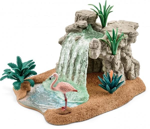 Schleich 42257 - Spielzeugfigur-Wasserfall