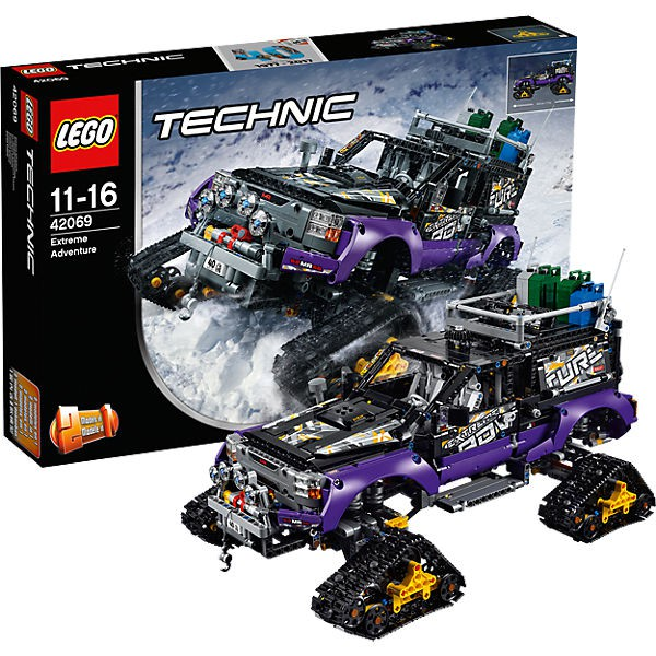 lego technic 42069 extremgel ndefahrzeug spielando. Black Bedroom Furniture Sets. Home Design Ideas