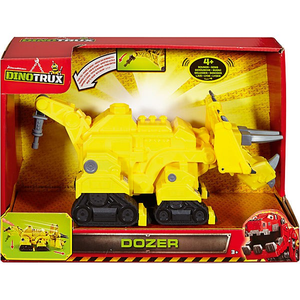 Dinotrux DPC99 Hero Sounds Bullz, Actionfigur