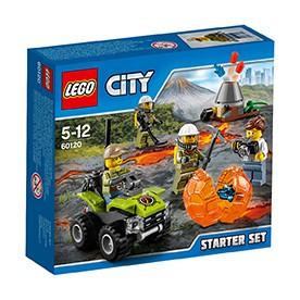 LEGO City 60120 - Vulkan Starter-Set