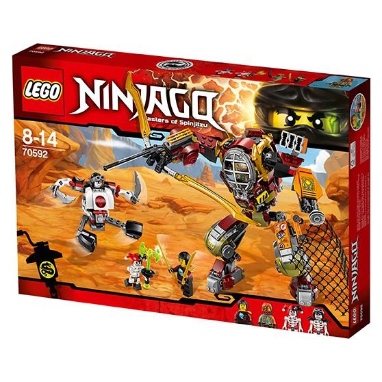 LEGO Ninjago 70592 - Schatzgräber M.E.C.
