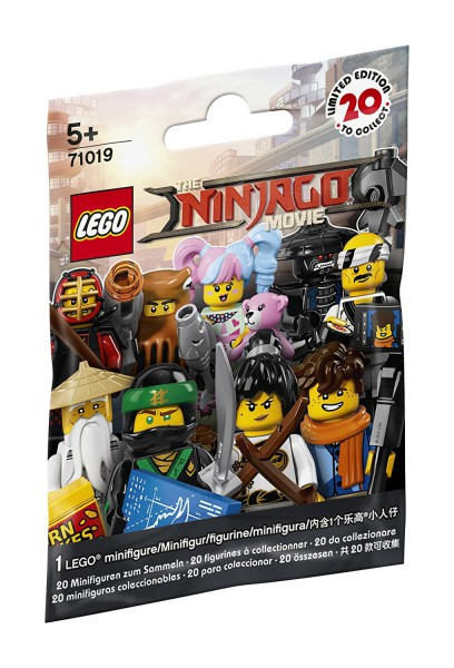 Lego Minifigures 71019 - THE LEGO NINJAGO MOVIE