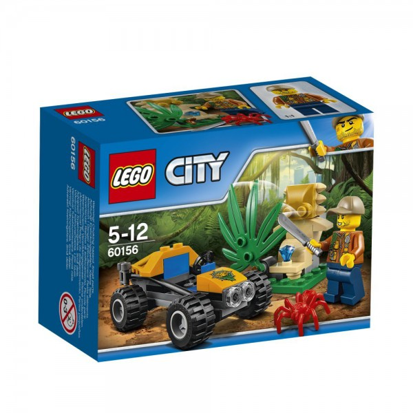 LEGO City 60156 - Dschungel-Buggy