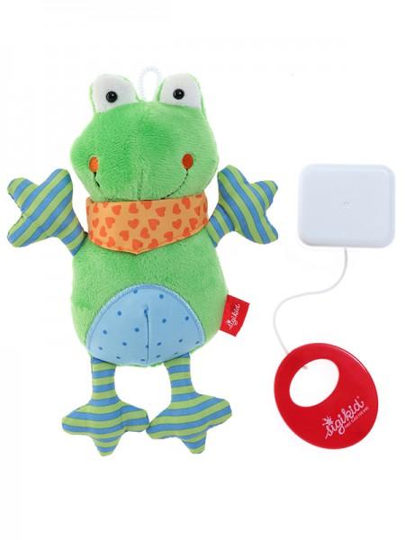 Sigikid -40781- Spieluhr Frosch Red Stars Collection