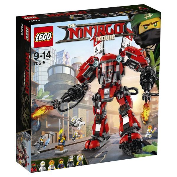 Lego The NINJAGO Movie 70615 Kai's Feuer-Mech