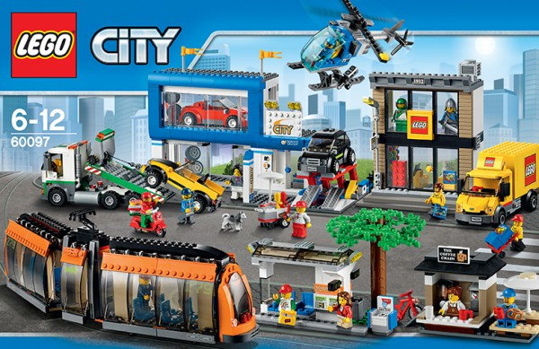 LEGO City 60097 - Stadtzentrum