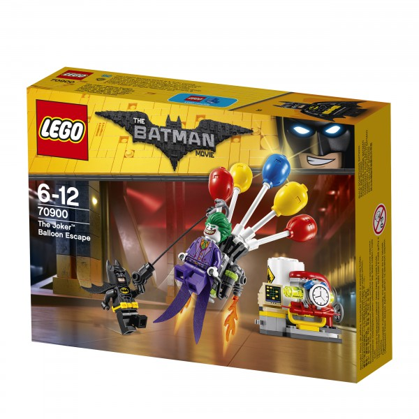 THE LEGO® BATMAN MOVIE 70900 Jokers Flucht
