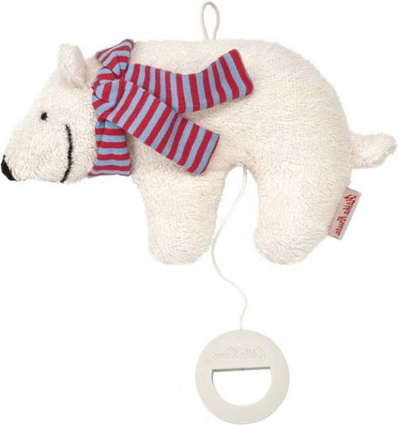 Käthe Kruse 0187412 Eisbär Oskar Spieluhr klein