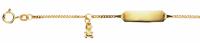 Kinder ID Armband 333er Gelbgold Teddybär