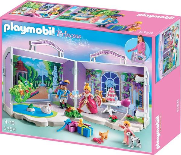 Playmobil 5359 - Mein Mitnehm-Köfferchen - Prinzessinnen-Geburtstag