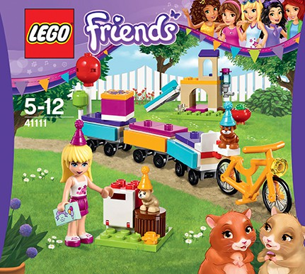 LEGO Friends 41111 Partyzug