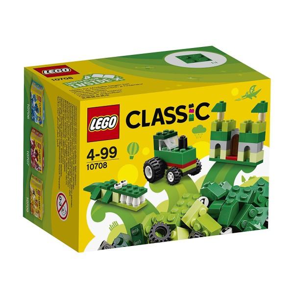 LEGO Classic - Kreativ-Box grün