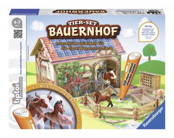 Ravensburger - tiptoi Tier-Set Bauernhof