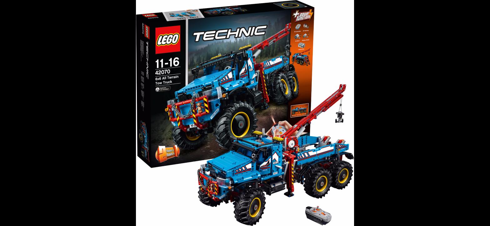 LEGO 42070 Technic: Allrad-Abschleppwagen   Spielando ...