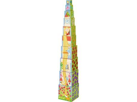 HABA 302030 - Stapelwürfel Rapunzel
