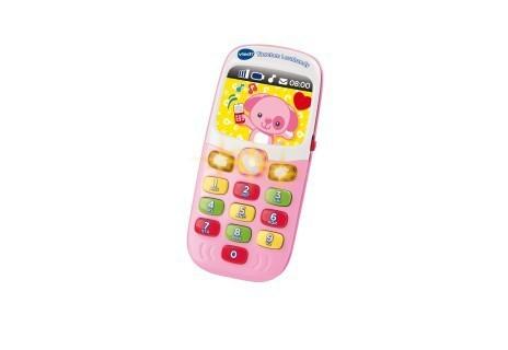 Vtech -138154- Tierchen Lernhandy pink