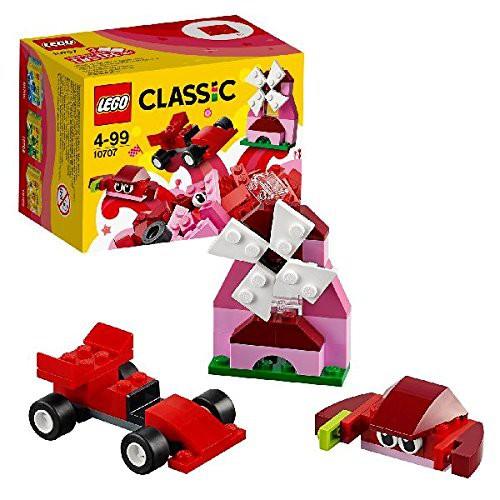 Lego Classic - 10707-Kreativ-Box rot