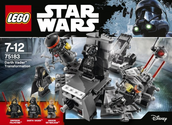 LEGO Star Wars 75183 - Darth Vader Transformation