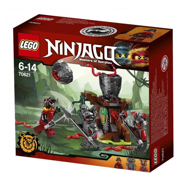 LEGO® NINJAGO™ 70621 Vermillion Falle