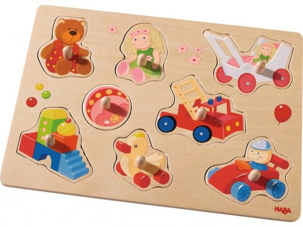 Haba 301963 Greifpuzzle Meine ersten Spielzeuge