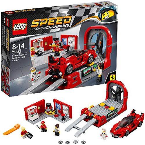 LEGO Speed Champions 75882 - Ferrari FXX K und Entwicklungszentrum