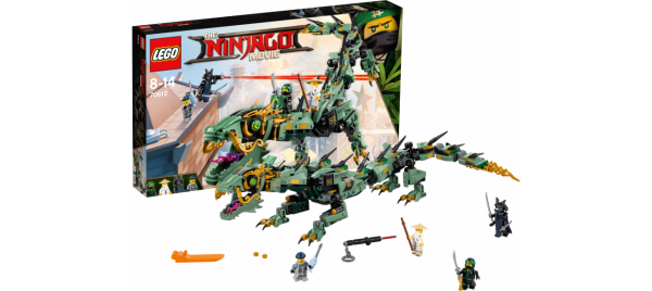 Lego The NINJAGO Movie 70612 Mech-Drache des Grünen Ninja