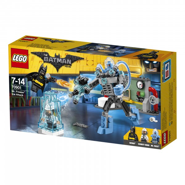 THE LEGO® BATMAN MOVIE 70901 Mr. Freeze™ Eisattacke